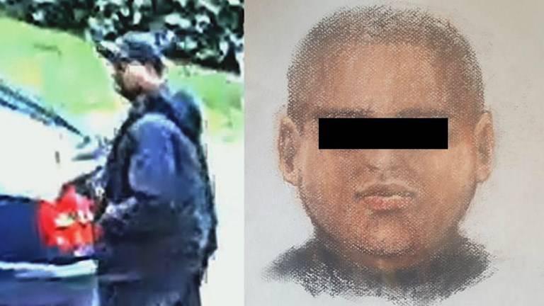 De politie verspreidde in het onderzoek een compositietekening van de dader.