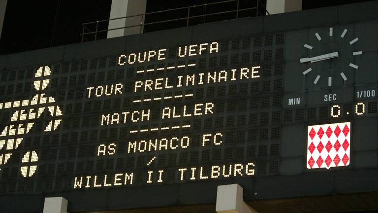 AS Monaco - Willem II (foto: VI Images).