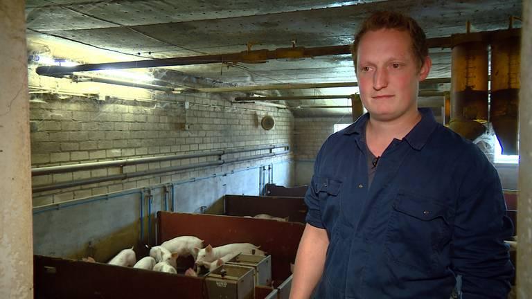 Boer Willem houdt in zijn achterhoofd 'dat het in zijn varkensstal ook kan gebeuren'.