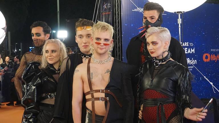 De SM-act van IJsland is door naar de finale van het Eurovisie Songfestival (foto: Jessica Ranselaar)