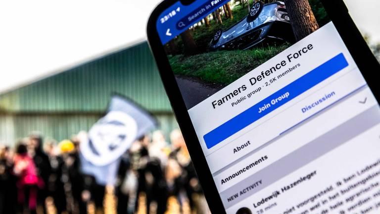 De Facebookgroep is gemaakt naar aanleiding van de bezetting in een varkensstal in Boxtel. (Foto: Rob Engelaar)