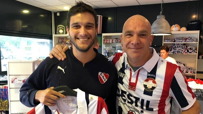 Valentin uit Argentinië (links) en Bras zijn klaar voor de finale zondag. (Foto: Birgit Verhoeven)