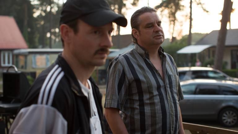 Frank Lammers (rechts) in Undercover.