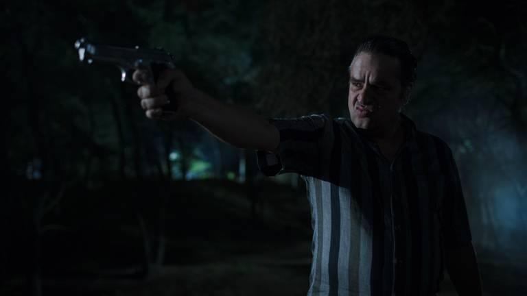 Frank Lammers als crimineel Ferry Bouman in Undercover (foto: Jo Voets).