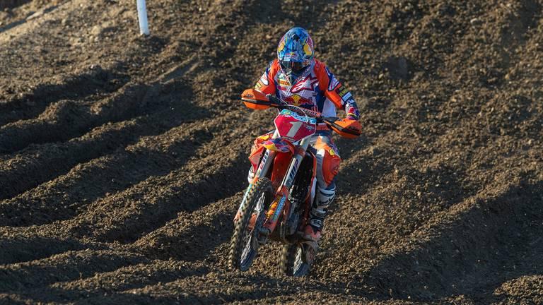 Jeffrey Herlings in actie in het slot van vorig seizoen (foto: Ray Archer/KTM)
