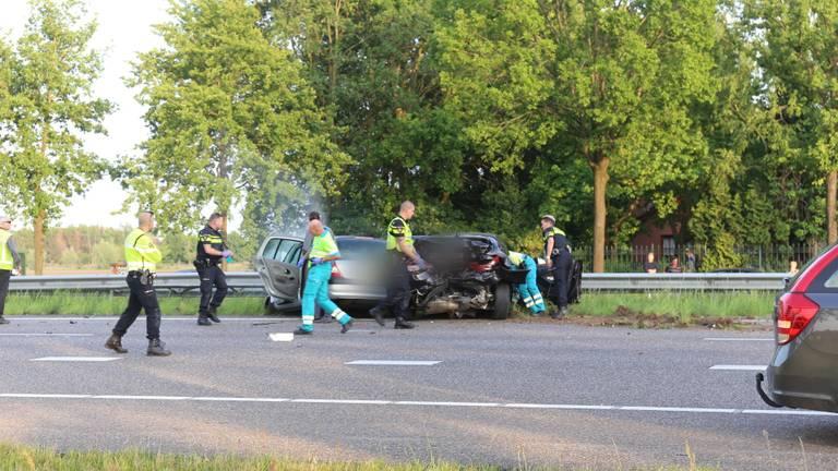 De ongelukken gebeurden vlak na elkaar. (Foto: Obscura Foto/ Alexander Vingerhoeds)