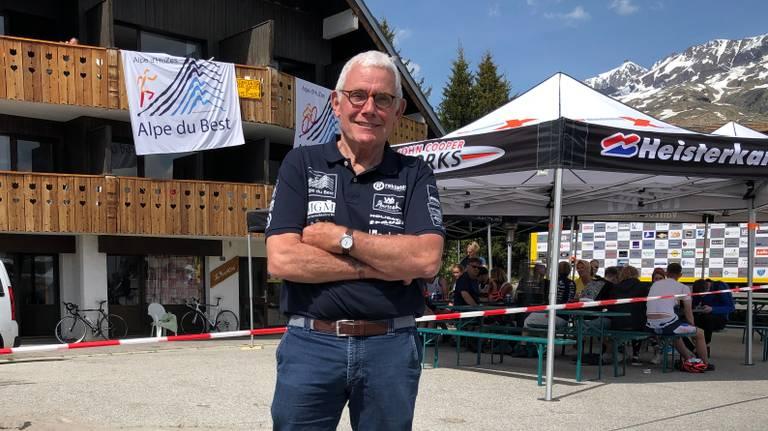 Hans van Stratum uit Best wil na zijn ziekte nog een keer de Alpe D'Huez beklimmen.