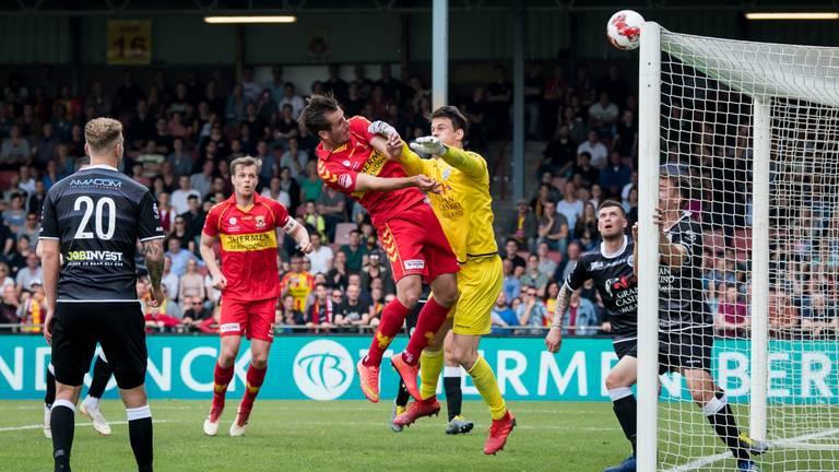 FC Den Bosch komt goed weg (foto: VI Images).