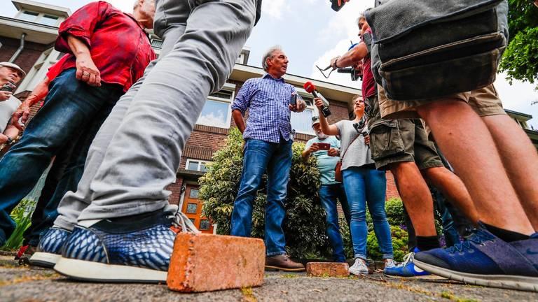 Een eerdere demonstratie van Pegida (foto: Dave Hendriks/ SQ Vision).