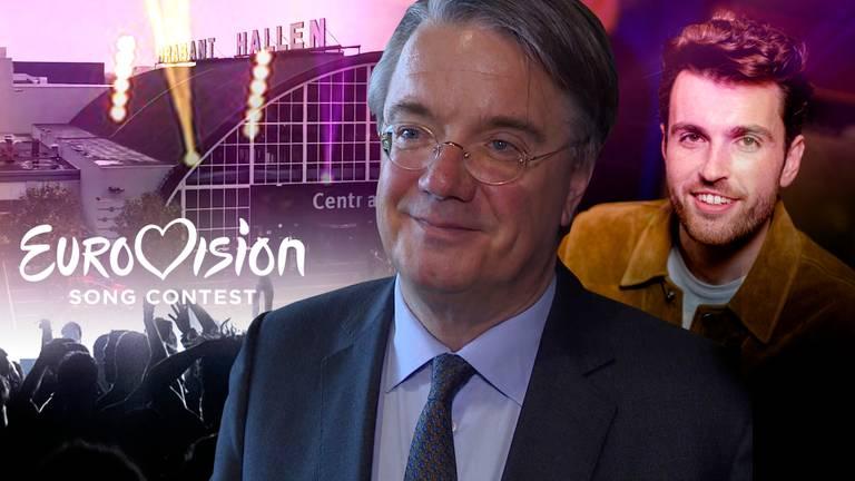 Commissaris van de Koning Wim van de Donk zegt dat de provincie zich internationaal op de kaart kan zetten als het Songfestival in Brabant gehouden wordt.