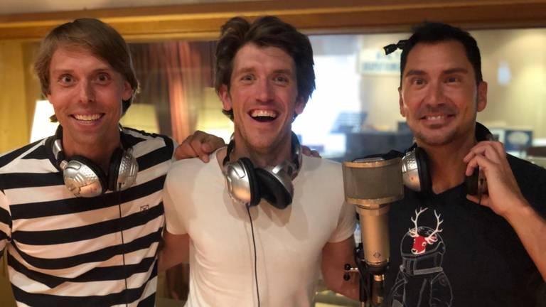 Menno Goedhart, Freek Haverman en Guido Weijers sloten de eerste dag van Breda Live af.