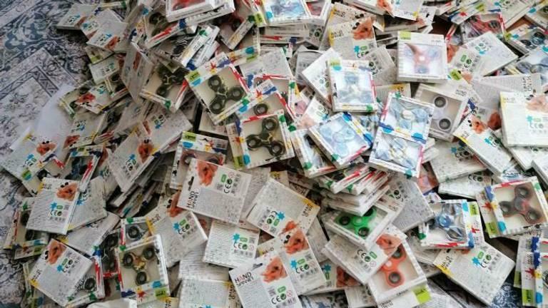 Eén van de vele partijen 'gratis' spinners op Marktplaats. (Foto: Marktplaats)