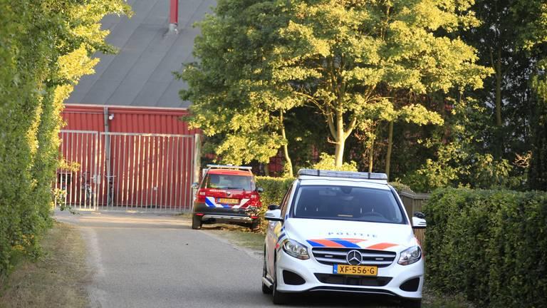 De zoektocht vond plaats in waterplas Hemelrijk aan de Luttelweg. (foto: Venema Media)