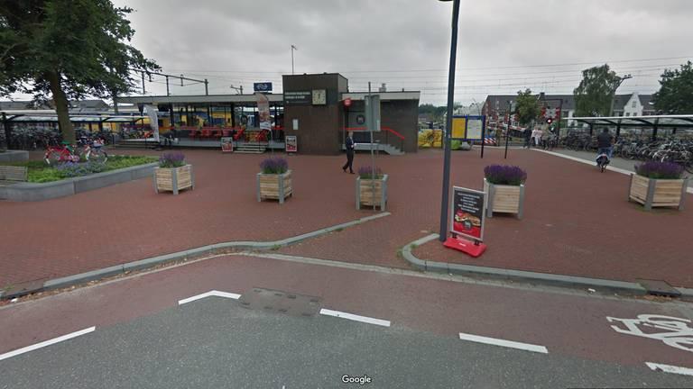 Het station van Deurne zou zomaar de mooiste van Groot- Brittannië kunnen worden (Foto: Google).