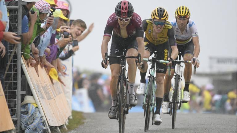 'Kruijswijk behoort tot de zes betere klimmers van deze Tour de France'. (Foto: VI Images)