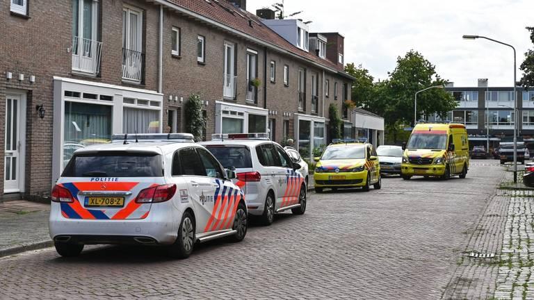 De politie en ambulances werden opgeroepen. (Foto: Tom van der Put)