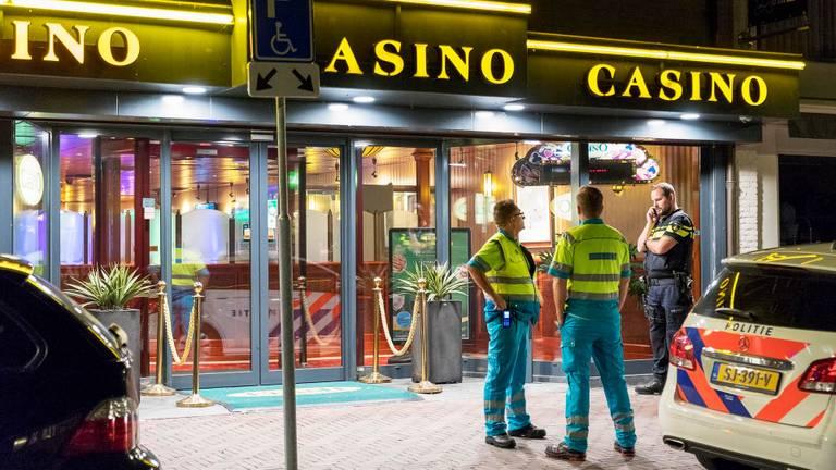 De overval in het casino vond rond middernacht plaats. (Foto: SK-Media)