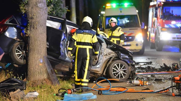 Het ongeluk kostte een 27-jarige man het leven. (Foto: Perry Roovers/SQ Vision)