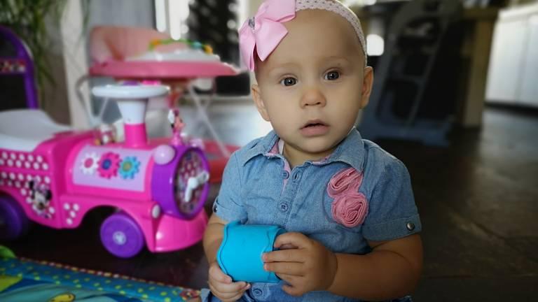 Baby Jenna heeft 'iets' extra's (foto: Ferenc Triki)