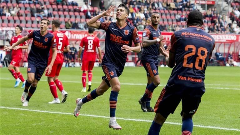Anas Tahiri maakte de 0-1 voor RKC Waalwijk (Foto: VI-Images)