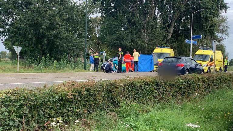 Diverse hulpdiensten kwamen ter plekke. (Foto: 112nieuwsinbrabant.nl)