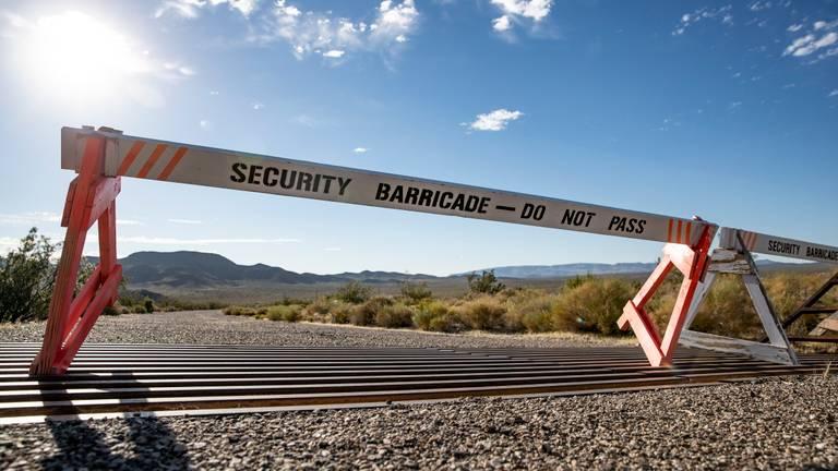 Het betreden van Area 51 mag absoluut niet. (Foto: ANP)