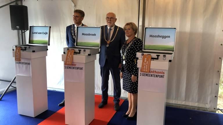 De drie mogelijk namen van de fusiegemeente zijn bekendgemaakt. (Foto: Gemeente Boxmeer).