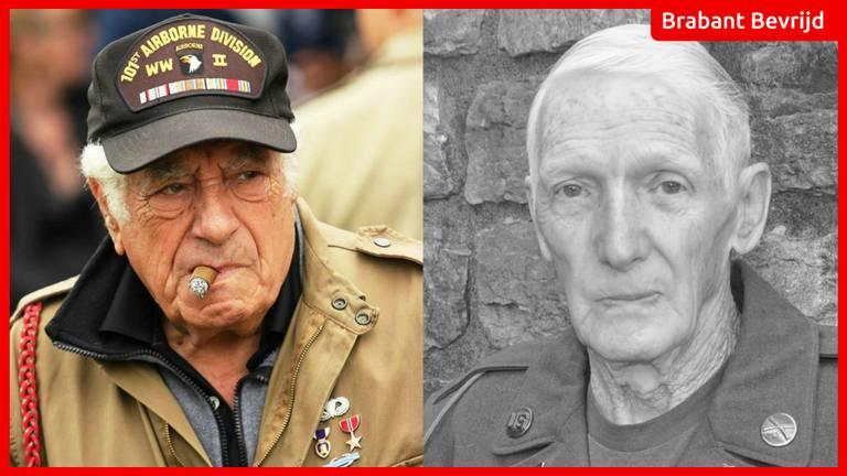 Veteranen Jim Martin en Vincent Speranza springen 75 jaar na operatie Market Garden nog één keer uit een militair vliegtuig.