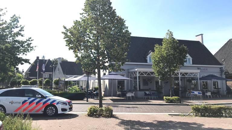 Onderzoek bij het café in Lieshout.