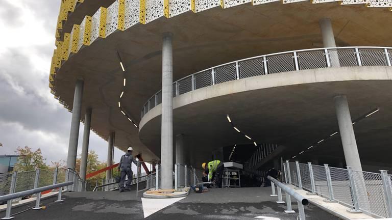 P1 bij Eindhoven Airport is klaar (foto: René van Hoof).