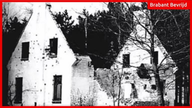 Boswachterswoning waar in 1944 het drama op de Vloeiweide plaatsvond.