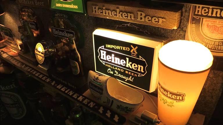 Wesley spaart alles van Heineken.