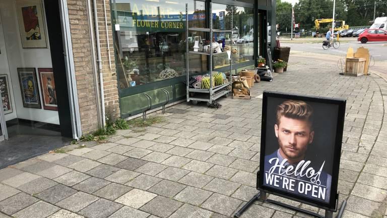 In de winkelstraten rukt het Engels op (foto: Hans Janssen).