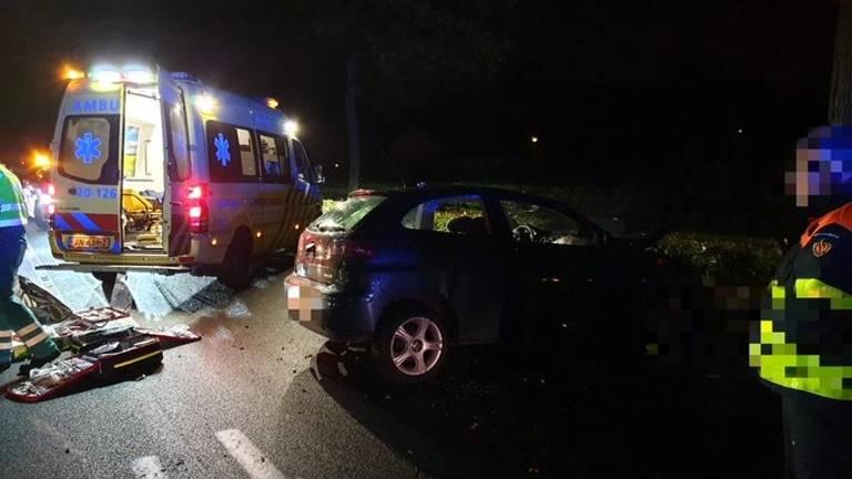 Het ongeluk gebeurde op de Rijsbergseweg in Breda. (Foto: @WIS_KeesJan)