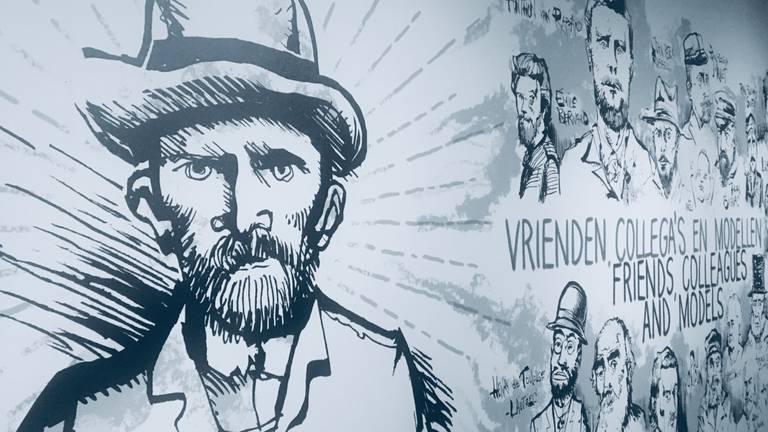 Maak kennis met de intimi van Vincent, bijna honderd bijzondere stukken bijeen in Den Bosch (foto: Jan Peels).