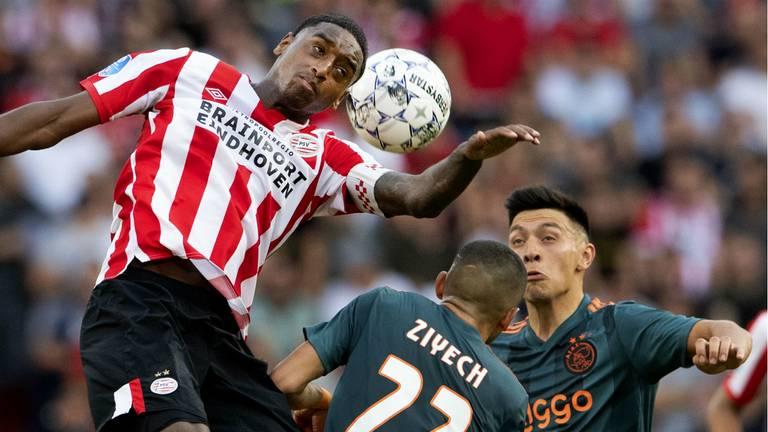 Pablo Rosario was volgens René van de Kerkhof een dissonant bij PSV. (Foto: ANP)