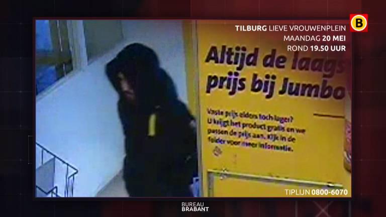 De tweede verdachte die een greep deed in de kassa en de kassamedewerker van de Jumbo mishandelde. ( Foto; Bureau Brabant)