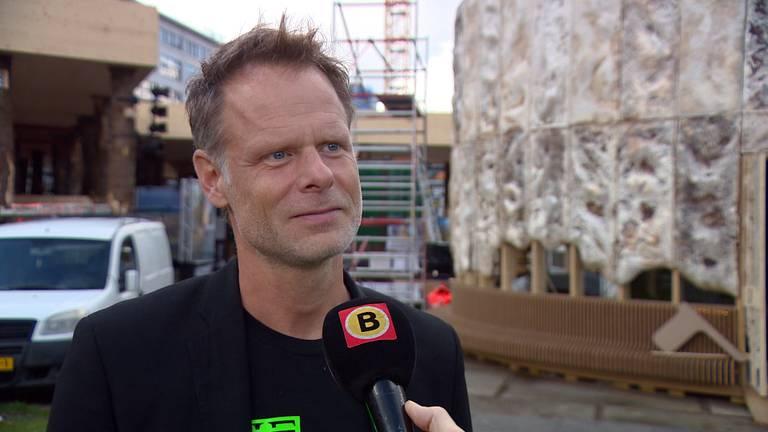 Directeur Martijn Paulen van de Dutch Design Week.