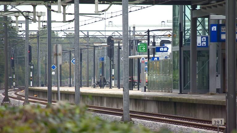 Het station in Boxtel kan niet gebruikt worden tijdens het openingsweekend van de Dutch Design Week.