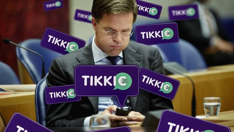 Premier Mark Rutte kan flink wat Tikkies van studenten verwachten. (Foto: ANP)