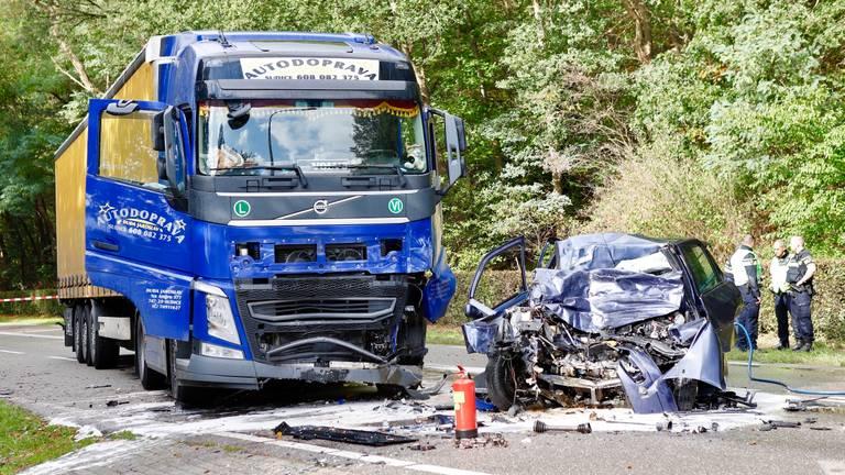 Het ongeluk gebeurde in het Limburgse Plasmolen. (Foto: SK Media)