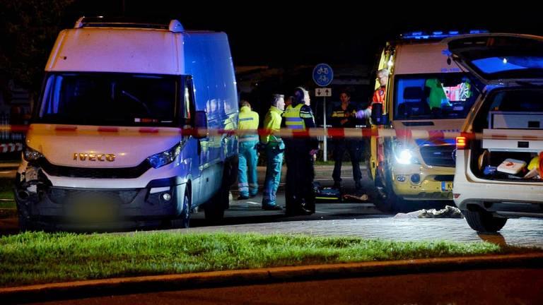De politie deed onderzoek bij de Aanwas en bij industrieterrein De Borchwerf. (Foto: Toby de Kort)