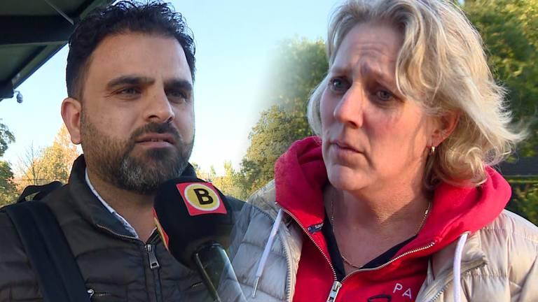 Ouders Al Shebany (links) en Van den Boogaard maken zich zorgen.