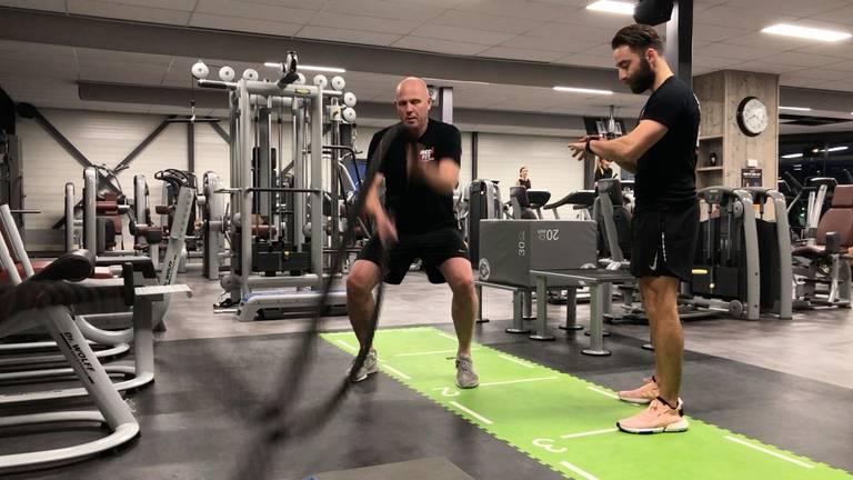 Zware concurrentie in fitnessland.