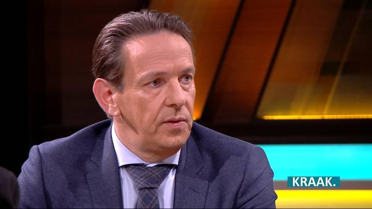 Burgemeester Roland van Kessel van Cranendonck.