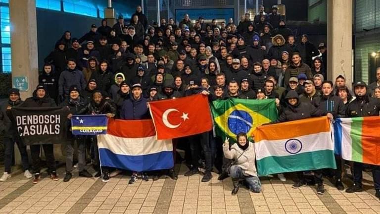 De supportersclub distantieert zich van de racistische uitlatingen. (Foto: RFU Den Bosch)