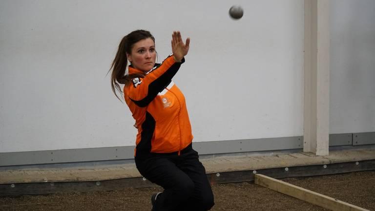 Jenny Den Baas uit Esch gaat naar WK Pétanque.