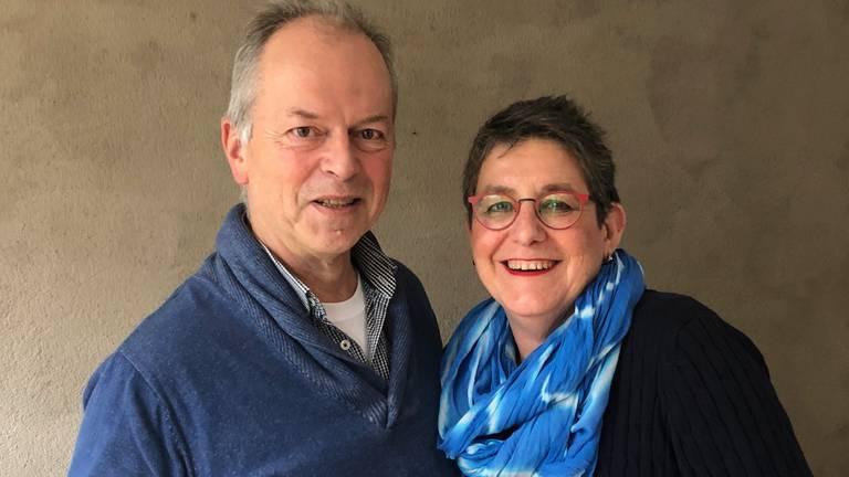 Tom Sanders en zijn vrouw Paulette (foto: Tonnie Vossen)