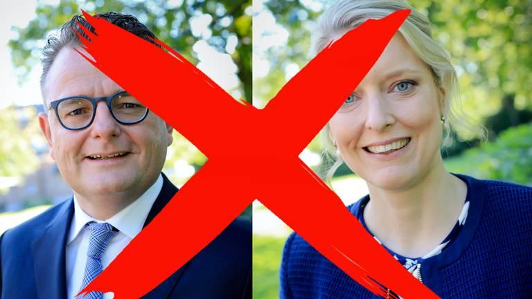 De CDA-gedeputeerden Renze Bergsma en Marianne van der Sloot zijn afgetreden. (Foto: Wim Roefs)