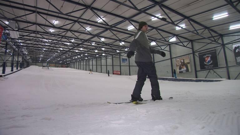 Freestyle skiër Mees van Lierop